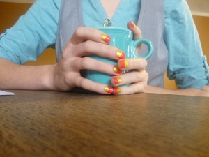 Creativity literally oozes from Hannah's fingertips!