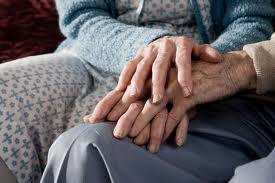 images old people holding hands