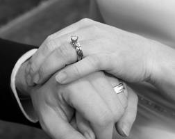 images married hands